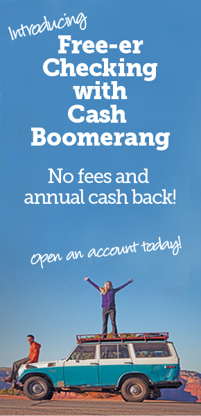 Get Free-er Checking with Cash Boomerang