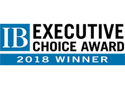 2018 In Business Executive Choice Award Winner