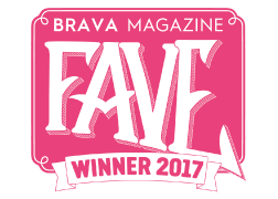 2017 BRAVA Magazine Raves and Faves Winner