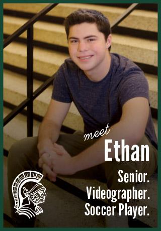 2018 Project Teen Money Ethan  senior videographer soccer player