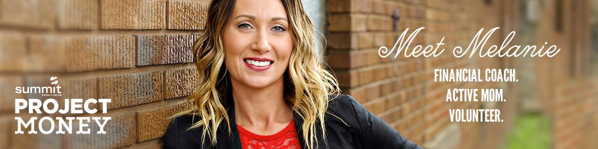 Meet Melanie financial coach active mom volunteer