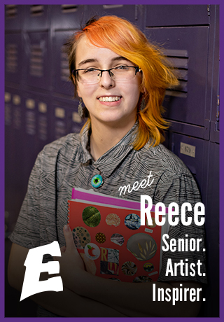 Meet Reece | Senior. Artist. Inspirer. | Madison East High School | Project Teen Money