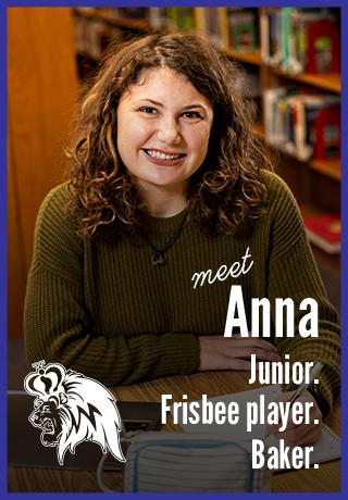 Meet Anna | Junior. Frisbee player. Baker. | Madison West High School | Project Teen Money