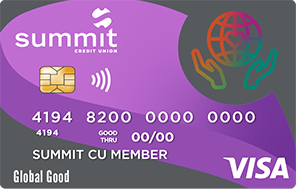 Summit's Global Good Credit Card