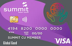 Summit's Global Good Credit Card