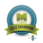M Power Champion logo