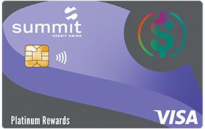 Visa Platinum Rewards Credit Card