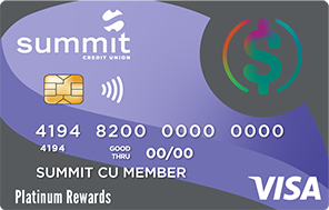 Summit's Platinum Rewards Credit Card