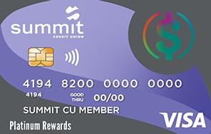 Summit's Platinum Rewards Credit Card
