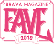 2018 Best Financial Institution by BRAVA Raves & Faves