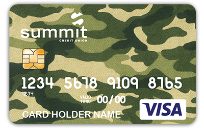Summit Outdoor Debit Card