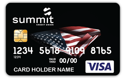 Summit Veteran Debit Card