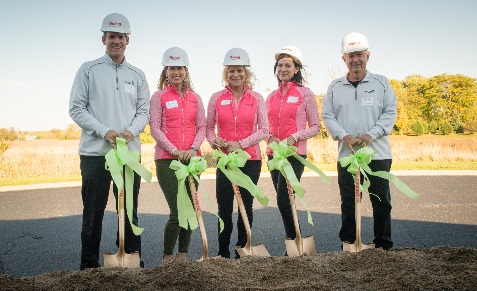 summit credit union breaks ground on dynamic headquarters in cottage