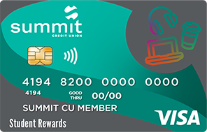 Summit's Student Rewards Credit Card