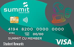 Summit's Student Rewards Credit Card