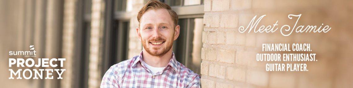 Meet Jamie. Financial coach, outdoor enthusiast, guitar player.