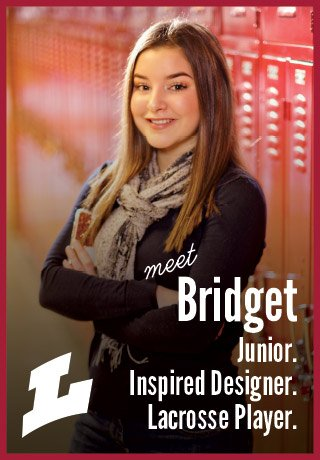2018 Project Teen Money Bridget junior inspired designer lacrosse player