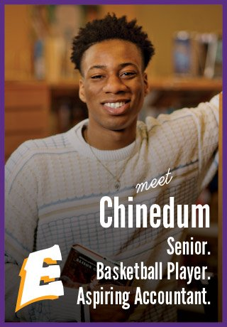 2018 Project Teen Money Chinedum senior basketball player aspiring accountant