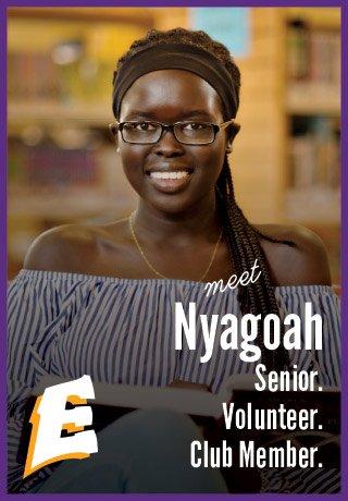 2018 Project Teen Money Nyagoah senior volunteer club member