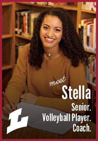 2018 Project Teen Money Stella senior volleyball player coach