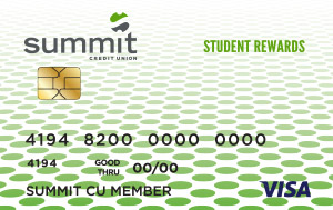 Summit Student Rewards Credit Card