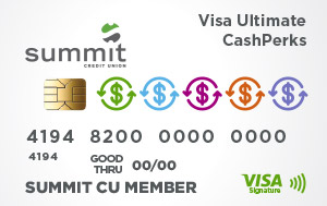 Summit Ultimate CashPerks Credit Card