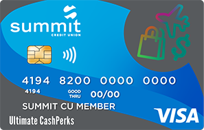 Summit's Ultimate CashPerks Credit Card
