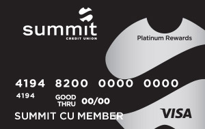 Summit Visa Platinum Rewards Credit Card