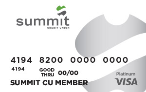 Summit Visa Platinum Credit Card