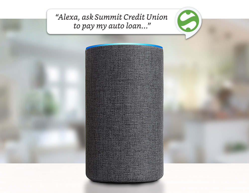 Voice banking with Summit Credit Union